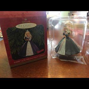 "Hallmark ""Millennium Princess"" Barbie Ornament"
